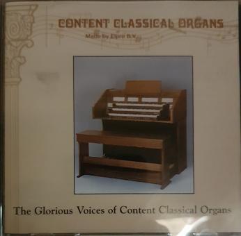 Content Classical Organs - The Glorius voices of Content classical organs