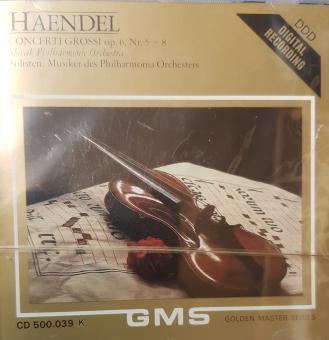 Haendel - Concerti Grossi op. 6, Nr. 1-4