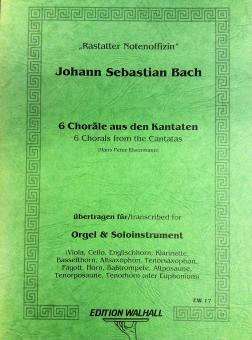 6 Choräle aus den Kantaten