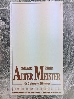 16 leichte Stücke alter Meister
