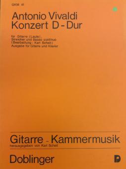 Antonio Vivaldi Konzert D-Dur