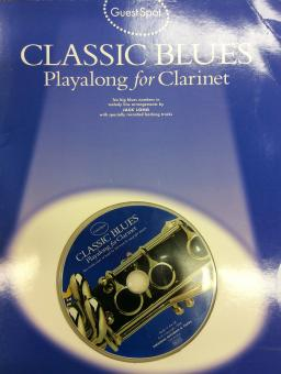 Playalong for Clarinet - Classic blues
