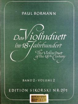 Das Violinduett im 18. Jahrhundert 2