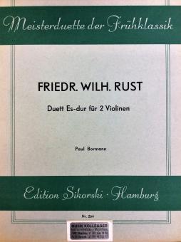Duett Es-dur für 2 Violinen