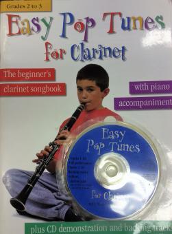 Easy pop tunes for clarinet