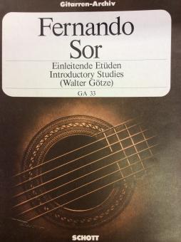 Einleitende Etüden op. 60 - Fernando Sor