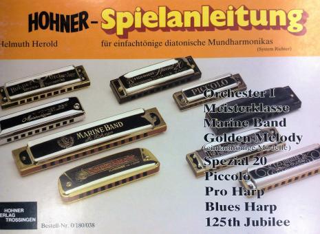 Spielanleitung für diatonische Mundharmonikas