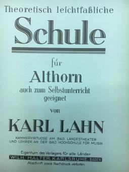 Theoretisch leichtfassliche Schule für Althorn