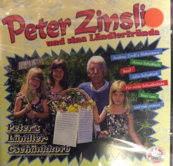 Peter Zinsli und sina Ländlerfründa
