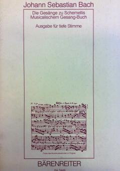 Die Gesänge zu Schmellis Musicalischem Gesang-Buch