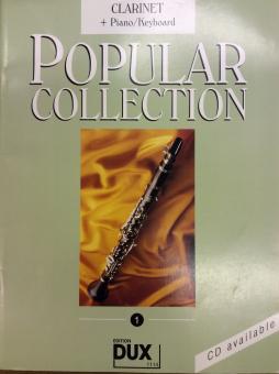 Popular Collection Klarinette Band 1 mit Klavierbegleitung