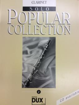 Popular Collection Klarinette Band 2 Solo