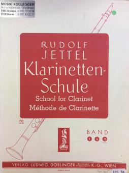 Klarinetten-Schule Rudolf Jettel Band 3