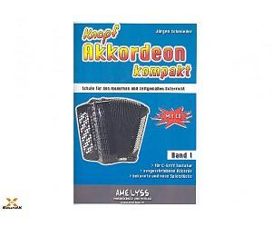 Akkordeon kompakt Band 1 für Knopfakkordeon