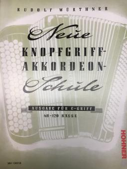 Neue Knopfgriff-Akkordeon-Schule