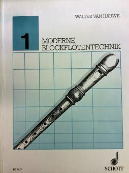 Moderne Blockflötentechnik