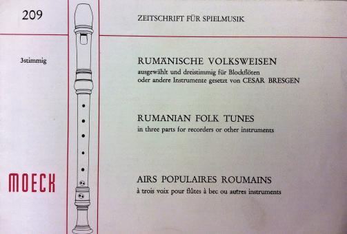 Rumänische Volksweisen