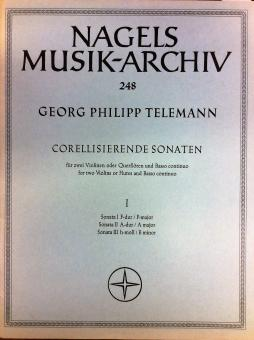 Corellisierende Sonaten 1