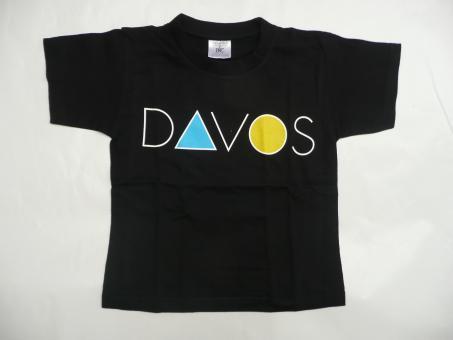 Kinder T-Shirt Schriftzug Davos