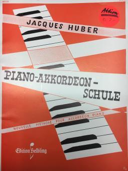 Jacques Huber Piano-Akkordeon-Schule