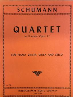 Quartet in Es. Opus 47