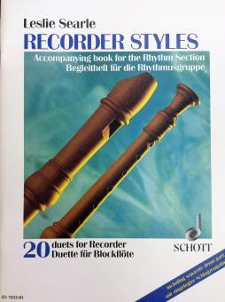 Recorder Styles