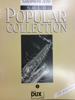 Popular Collection Alt-Saxophon Band 2 Solo