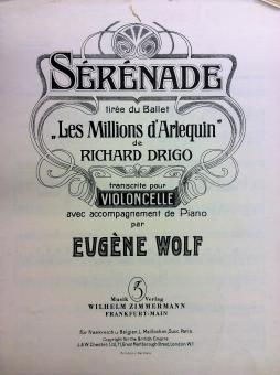Serenade Les Millions d`Arlequin