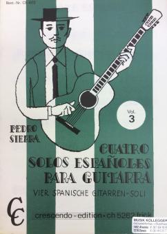 Quatro solos espanoles para guitarra 3