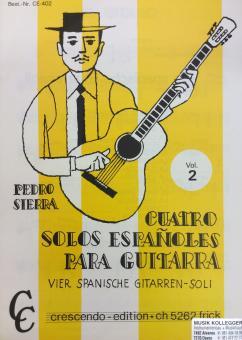 Quatro solos espanoles para guitarra 2