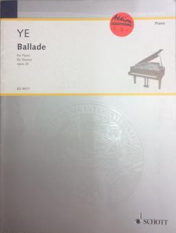 Ballade opus 25
